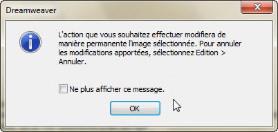 Confirmer action de rééchantillonage d'image